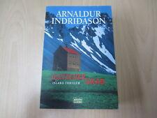 Arnaldur Indridason - GLETSCHERGRAB - Island Krimi - TB - Bastei - (19479)