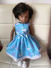 "Dolls Clothes, Handmade to Dress Vintage16"" Doll  Sasha ,dress, Little Bag"
