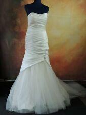 D'ZAGE wedding dress size 12 ivory STUNNING