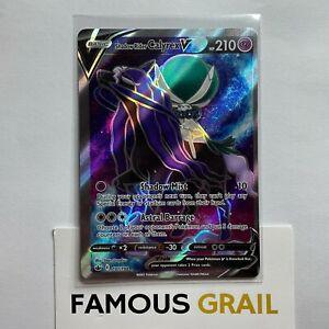 Shadow Rider Calyrex V - 171/198 - Full Art Card - Pokemon Chilling Reign MINT