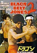 BLACK BELT JONES 2-Hong Kong RARE Kung Fu Martial Arts Action movie - NEW DVD