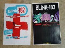 Blink 182 11x17 promo tour concert Poster cd