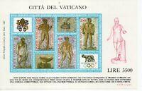 Vatican City #MiBl9 MNH S/S CV€4.00 1987 Olymphilex Caracalla Mosaic [792]