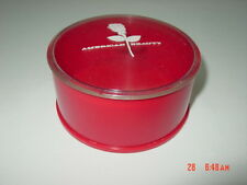 Vintage American Beauty Dusting Powder Box Rexall Drugs EMPTY Makeup Accessory