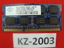 ORIGINALE Apple Macbook a1342 MacBook memoria 2 GB pc3-8500s #kz-2003