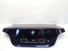 Boot Lid Tailgate Carbon Black (03-07) BMW 520D E60 M Sport Ref.667