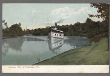 """[62895] 1907 POSTCARD STEAMER """"CITY OF CHATHAM"""" IN ONTARIO"""