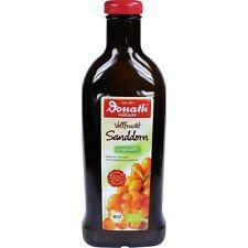 DONATH Plein fruit Sanddorn non sucré Bio 500 ml PZN9781217