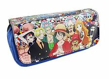 One Piece Anime Straw Hat Pirates Pencil Case