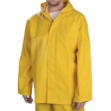 Pro Rainer Trident Rain Jacket Midweight Commercial Rain-Gear Yellow Small 36-38