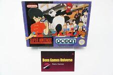 SNES Super Nintendo Ranma ½ PAL FAH Ovp Leer / Empty