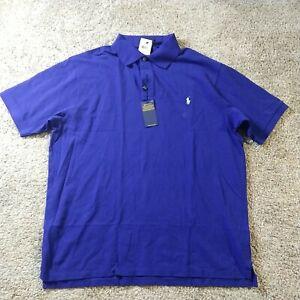 Ralph Lauren Polo Shirt 2XLT Blue
