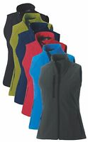 Russell 141F Womens Ladies Softshell Plain Gilet Bodywarmer No Logo