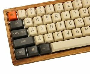 Carbon Keycap Set Thick PBT OEM Profile For MX Cherry Mechanical Game Keyboard