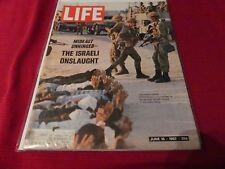 06/16/67 Life Magazine Israel Advances Against Egypt in Gaza Strip,  The Beatles