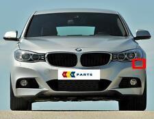 BMW Nuovo Orig 3 F34 GT ANTERIORE M sport Paraurti N / S Sinistro RONDELLA copertura 8062251