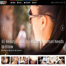 WordPress 'MAGXP' Website eCommerce Magazine Theme For Sale (FREE HOSTING)