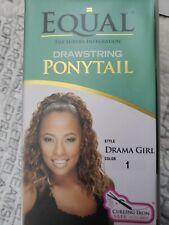 DRAMA GIRL EQUAL DRAWSTRING PONYTAIL SYNTHETIC MEDIUM LENGTH WAVY HAIR