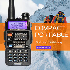 UV-5RE Plus 128CH Dual band UHF+VHF FM Ham 2-way Radio Walkie Talkie BaoFeng