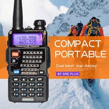 UV-5RE Plus 128CH Dual band UHF+VHF FM Ham 2-way Radio Walkie Talkie BaoFeng