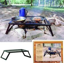 """16""""x12"""" Camping Grill Equipment Supplies Campfire Cooking Over Fire RV Cookware"""