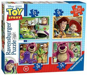 Ravensburger Disney Toy Story - 4 in Box (12, 16, 20, 24 piece) Jigsaw Puzzles