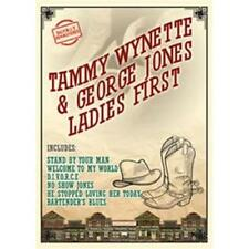 TAMMY WYNETTE & GEORGE JONES Ladies First DVD BRAND NEW Region 4