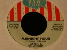 Michael & The Messengers-Midnight Hour-ORIGINAL 1967 US Garage 45!