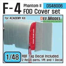 DEF.MODEL, DS48006, F-4 Phantom II FOD Cover set (for Academy 1/48) , 1/48