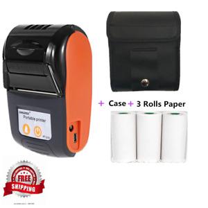 Mini Thermal wireless Printers POS pc pocket bill makers impresora