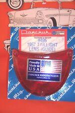 1957 Chevy Taillight Lens Belair Sedan Wagon Hardtop Convertible Made In USA