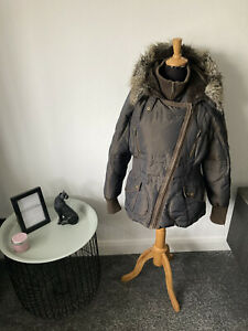 Woman's NEXT Warm Winter Coat Size 18 Tall Range - Down Feather