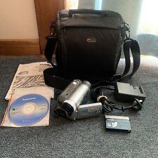 Panasonic NV-GS25 MiniDV Tape Video Camera with Charger, Cassette, Battery & Bag