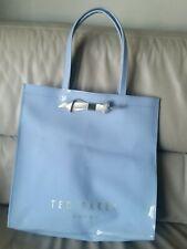 Ted Baker Large Tote PVC Bag Light Blue