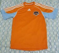 RARE Vintage 2006 Adidas Houston Dynamo Soccer Jersey MLS Orange White Small