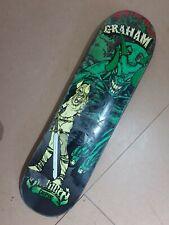 Creature Skateboard Deck. Stu Graham deck.