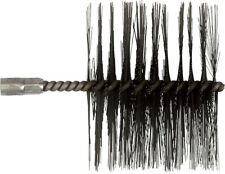 Buderus Cepillo de Limpieza de la Caldera de Acero 160mm Longitud Cerdas 10cm