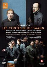 JACQUES OFFENBACH - LES CONTES D'HOFFMANN ( HOFFMANNS ERZÄHLUNGEN ) 2 DVD NEW+