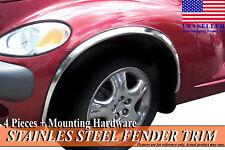 2001-2014 Chrysler PT Cruiser Stainless Steel Fender Wheel Molding