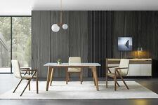Ess Habitación Madera Mesa Diseño Salón Set Conjunto Italiana Mueble 4 Tlg , Neu