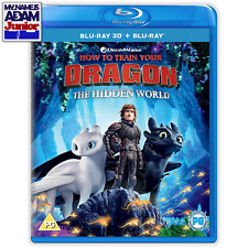 HOW TO TRAIN YOUR DRAGON: THE HIDDEN WORLD Blu-ray 3D + 2D (REGION-FREE)