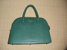 B. Renouard Forest Green Bolide Style 34 cm. Handbag