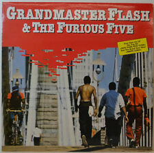 """GRANDMASTER FLASH & THE FURIOUS FIVE - SAME - SUGAR HILL 6.25644 12"""" LP (Y448)"""