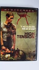 HIGH TENSION ~ DVD WS UNRATED HORROR Foreign INSANITY PSYCHO GOOD FILM NOIR CULT