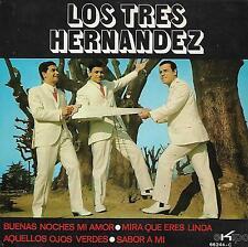 LOS TRE HERNANDEZ EP Spain 1970 Sabor a mí +3