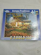 WHITE MOUNTAIN PUZZLE AUTUMN TRADITIONS TERRY REDLIN 300 PCS ALL COMPLETE