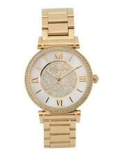 Michael Kors MK3332 Gold Mother Pearl Glitz Fashion Watch