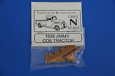 """N Scale """"Cars N Scale"""" 1938 GMC cab-over-engine tractor, new-in-packaage"""