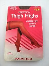 Vintage Perfection Thigh High Taupe Garter Free One Size Stay up Band