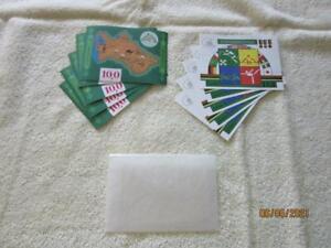 Turkmenistan Scott #9 and #23 Souvenir Sheets; 5 of each; $90+ 2016 CV